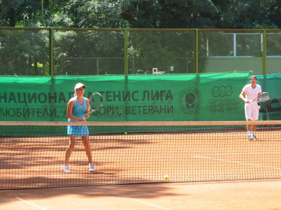 Национална тенис лига гостува във Варна с вечерен турнир за двойки