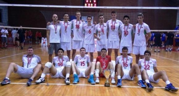 Юношите на България със сребро на Балканиадата