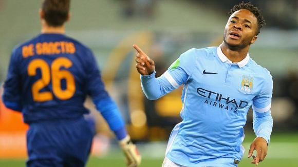 """Стърлинг с гол след 137 секунди като играч на Ман Сити, """"гражданите"""" биха Рома (видео)"""
