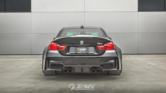 Някои си падат по дебели коли - BMW M4 от TAG Motorsports (Снимки)