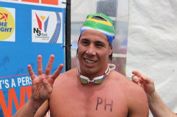 Южноафриканец спечели 5-те километра след фотофиниш