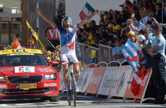 Пино спечели предпоследния етап на Тур дьо Франс, Фруум запази жълтата фланелка