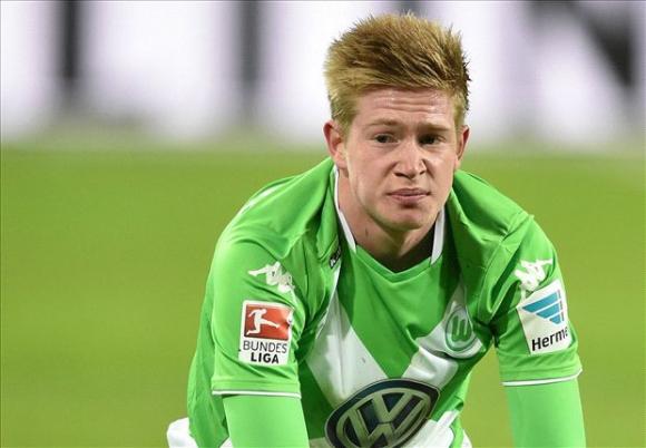 Де Бройне определен за футболист на сезона в Германия