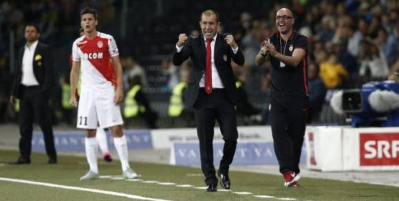 Жардим доволен от старанието на играчите на Монако