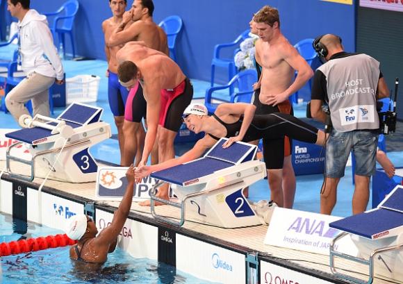 САЩ с нов световен рекорд в смесената щафета на 4 по 100 м съчетано