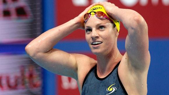 Австралийка детронира Миси Франклин на 200 метра гръб