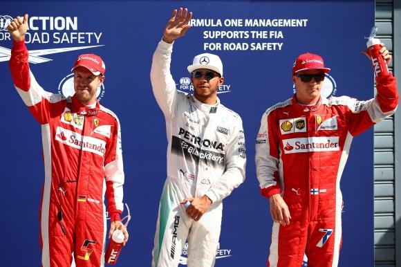 Хамилтън си осигури полпозишън за Гран при на Италия, Ферари втори и трети