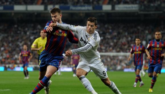 Спасиха Пике от ултрасите на Реал Мадрид