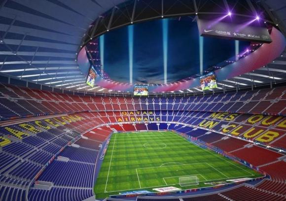 Барселона оцени смяна на името на стадиона на 250 милиона евро