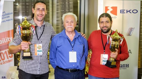 "Български екипаж втори в ""Hi-tech Mobility Eco Rally Greece 2015"""