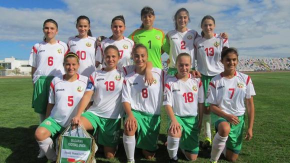Националният отбор на България за девойки до 17 г. победи Португалия в контрола