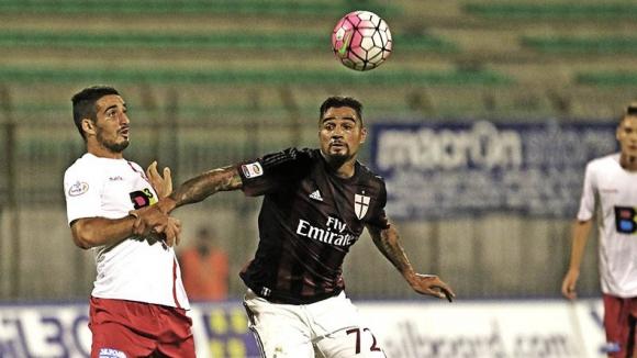 Боатенг в игра за Милан при 3:0