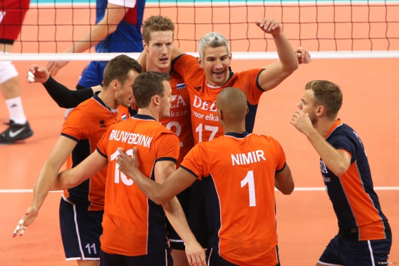 Холандия победи Чехия с 3:1 на старта на Евроволей 2015 в София (ГАЛЕРИЯ)