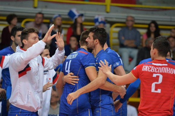 Франция отстрани Сърбия от Евроволей 2015 и среща България