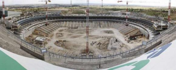 Проблеми с новия стадион на Атлетико