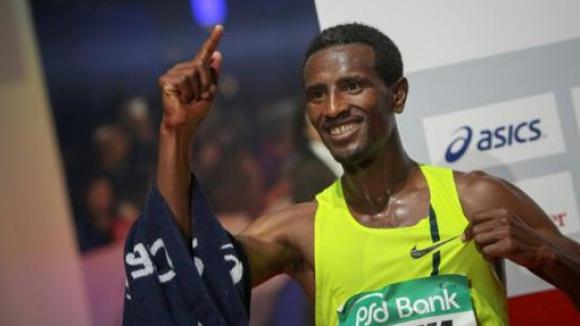 Етиопци триумфираха на маратона във Франкфурт
