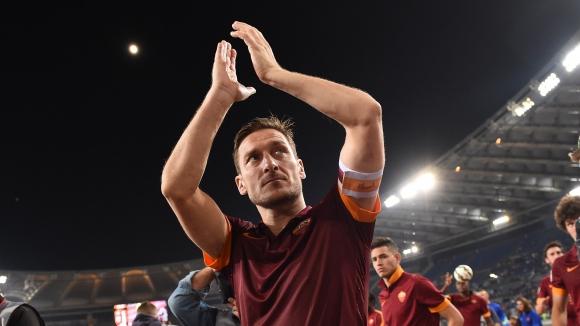 Тоти става шеф в Рома