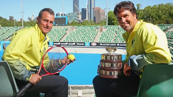 """Лейтън Хюит стана капитан на Австралия за """"Купа Дейвис"""""""