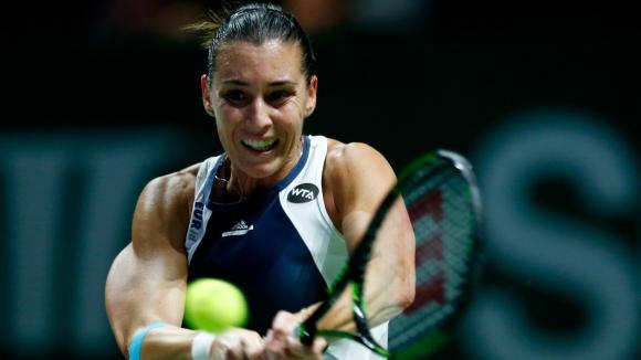 Пенета надигра Радванска за първата си победа в Шампионата на WТА