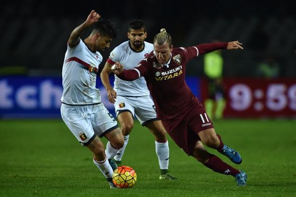 Гол в 94-ата минута попари Торино срещу Дженоа (видео)