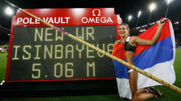 Исинбаева иска нов световен рекорд