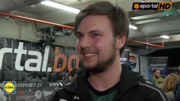 Звезда от Бундеслигата: Страхотно е да бъда в България (видео)