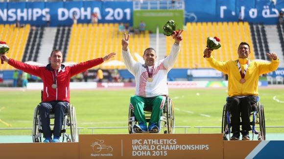 България се нареди на 20-о място в класирането по медали на световното по лека атлетика за спортисти с увреждания