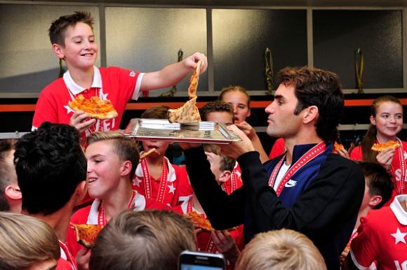 Пица от шампиона (снимки)
