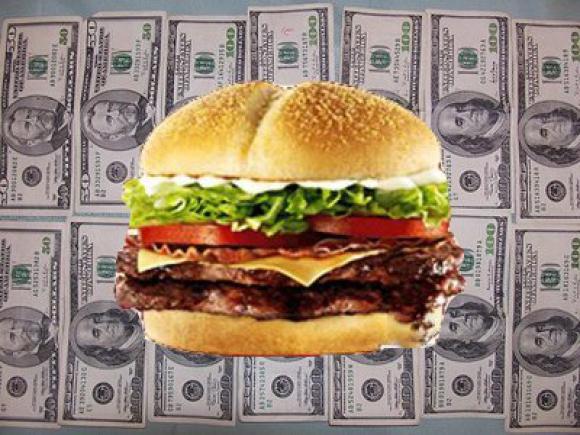 Колко струва този хамбургер?... КОЛКО?!