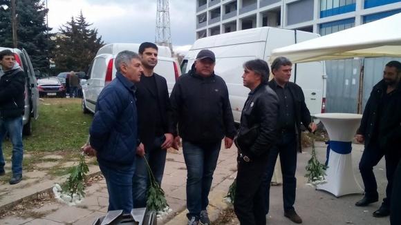 """Стотици изпратиха Стоян Хранов на """"Герена"""""""