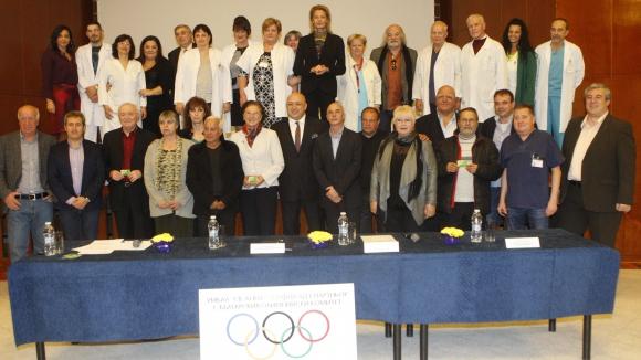 """БОК, ММС и УМБАЛ """"Св. Анна"""" осигуряват пълноценни здравни грижи на 700 наши спортни легенди"""
