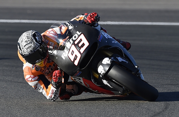Маркес най-бърз в първия ден от следсезонната подготовка във Валенсия