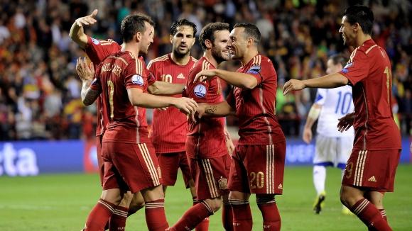 Испания ще играе контрола с Румъния