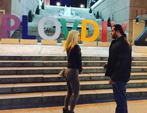 Русев и Лана обикалят Пловдив