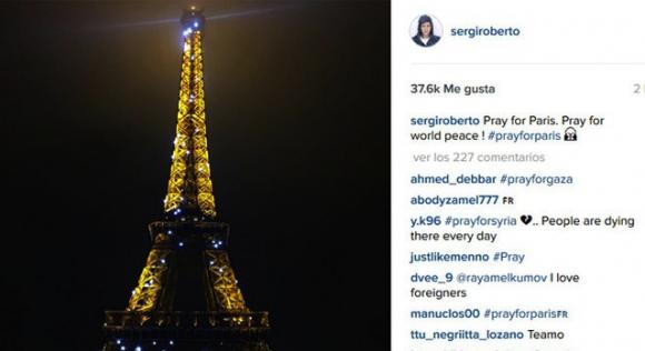 Футболист на Барса е бил в Париж
