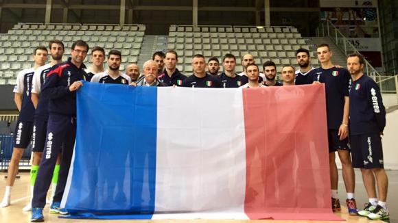 Тренто подкрепи френския народ