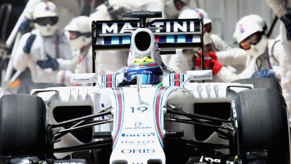 Маса дисквалифициран от Гран при на Бразилия