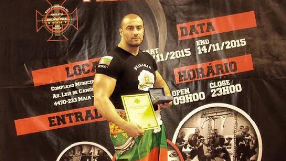 Ицо Мусков със сребро на световното по силов трибой в Португалия