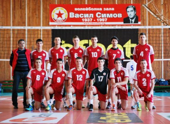 ЦСКА с чиста победа над Миньор при юношите старша възраст
