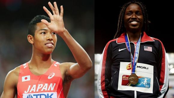 Спринтьори са Изгряващите звезди в атлетиката за 2015 г.