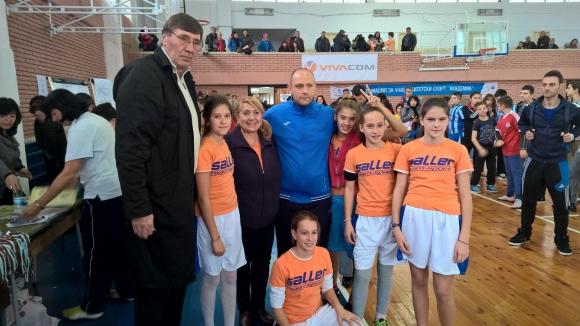 """Глушков и Папазов гостуваха на турнир на """"Спешъл Олимпикс"""""""