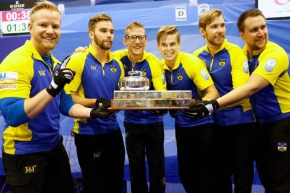 Швеция защити европейската си титла по кърлинг