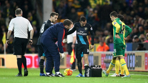 Тежък удар за Арсенал, Касорла с увредени коленни връзки