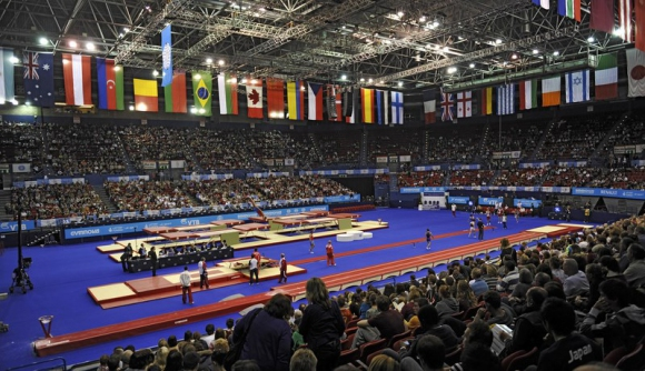България с пето място в синхронните скокове на световното по батут
