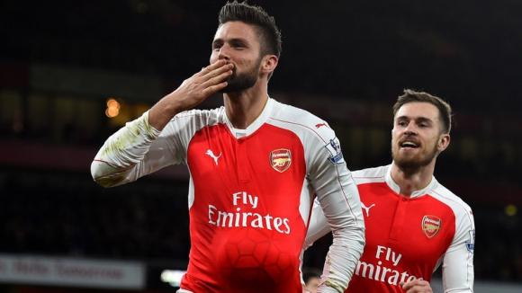 Арсенал изскочи втори преди мача на истината (видео)