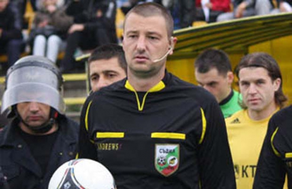 Таско Тасков ще ръководи четвъртфинала Литекс - Левски