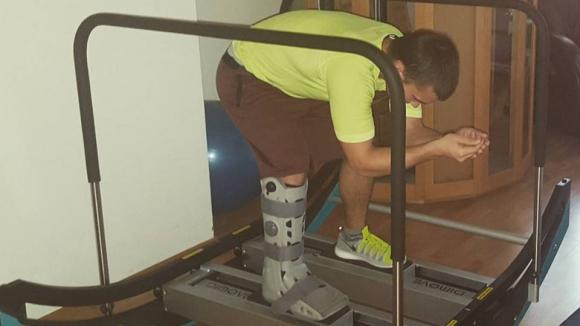 Алберт Попов започна възстановяването си в Инсбрук