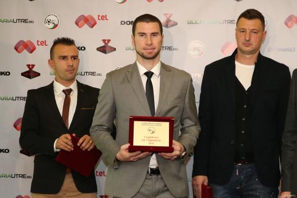 Георги Кабаков най-добър футболен съдия за 2015 година
