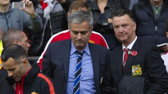 Моуриньо иска да смени Ван Гаал в Манчестър Юнайтед