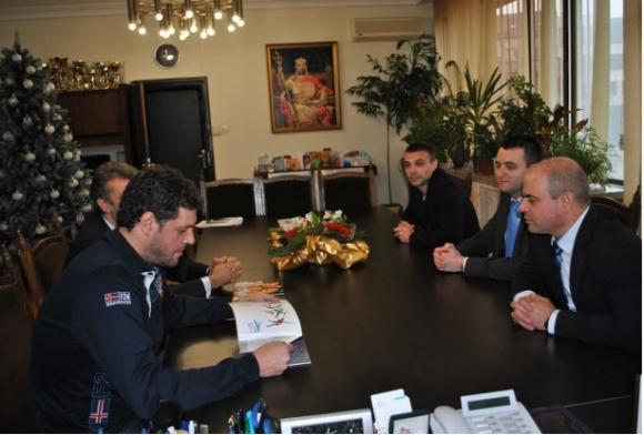 Пламен Константинов агитира кметове да помагат на спорта